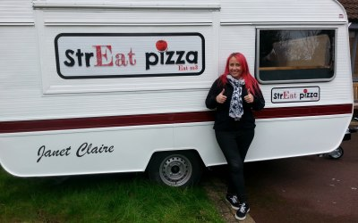 strEat pizza caravan