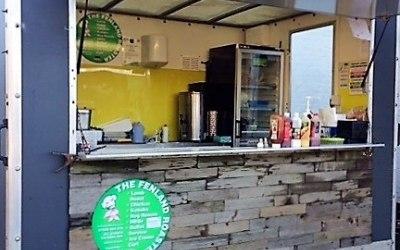 Catering trailer. Burger van. Mobile caterer