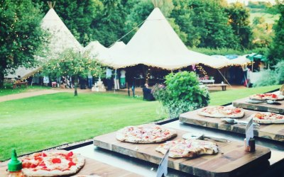 Wedding Pizza - Festival themed Wedding Pizza