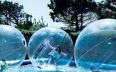 Water-walkers, zorb balls