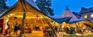 World Inspired Tents wedding tipi hire