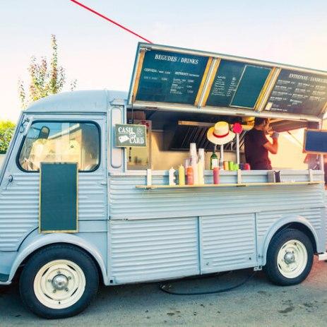 Vintage Food Van Hire