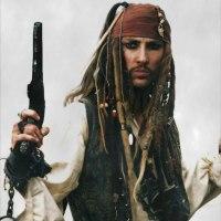 Terry Austin is Captain Jack Sparrow