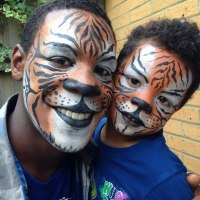 Tiger Face Paint