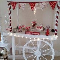 Festive Candy Cart hire