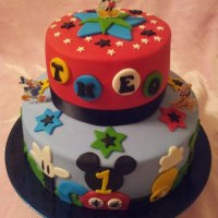 Mickey Mouse Clubhouse Cake - Cakes by Deborah