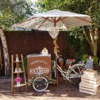 ice cream tricycle hire, ice-cream, weddings, Nuneaton, Warwickshire