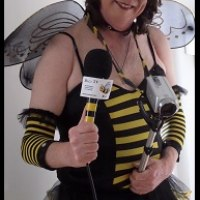 The glamorous web TV host Betty Buzzcock