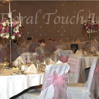 5 Arm Candelabra Centrepiece Hire with or without Floral Arrangement