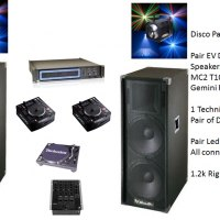 DJ Equipment Hire Package C