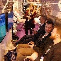 Gamewagon Video Game Booths: Exhibition Attraction