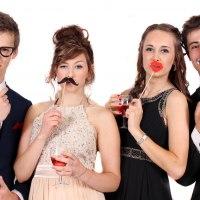 Fun Photo Studio at the Prom!