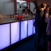 Contempory LED mobile bar units Nicks Mobile Bar 1