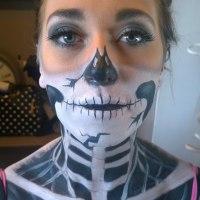 Halloween Adult Face Paint & Makeup Design
