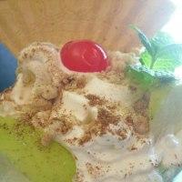 Mobile ice cream sundae bar