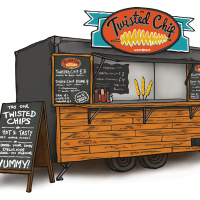 The Twisted Chip Company Trailer
