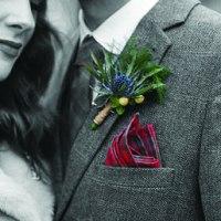 Scottish themed wedding at Chicheley hall, Buckinghamshire