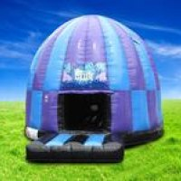 The Ultimate Disco Dome, with flashing lights and amazing sound system!