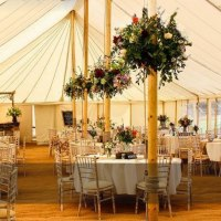 Traditional Pole Wedding Marquee