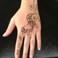 Beautiful Henna Tattoo Design