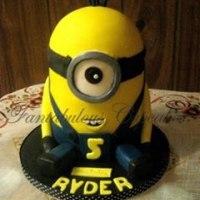 Minion, Minion Cake, Novelty Cakes, Cakes, Fantabulous Cupcakes, party cakes, children's cake