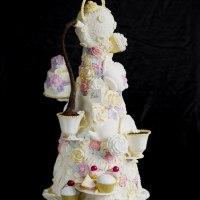 Tea for Two Wedding Cake