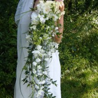 Natural wedding flowers grown and arranged by The Flower Hive