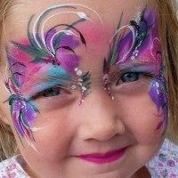 Pretty fairy face