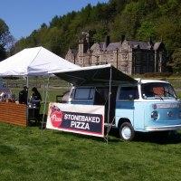 festival wedding, wood fired functions, vw camper van