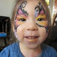 Mayfly Face and Body Art