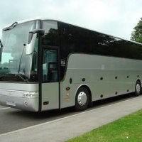 53 seater luxury coach with toilet and aircon