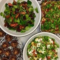 buffet, lunch, dinner, salads, healthy