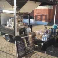 Mobile coffee van London & UK