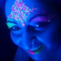 UV Glitter facepaintingmerseyside.co.uk