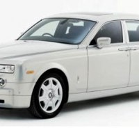 Phantom wedding Car
