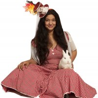 Children's Magician with Rabbit