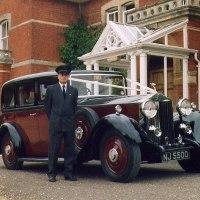 "1935 ""Churchill"" Rolls-Royce and chauffeur (Alan)"