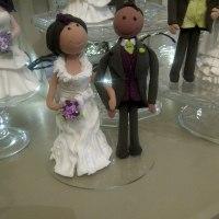 personalised keepsake wedding cake bride and groom toppers