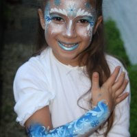 Donata's Face Painting - Inspired by 'Frozen' www.donatasfacepainting.co.uk