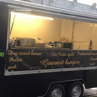 18ft modenised catering trailer