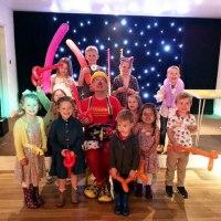 Mr Custard with the fabulous children.