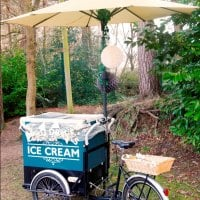 Plum Honeychurch & Her Ice Cream Tricycle