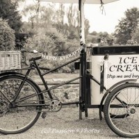 Genuine 1920's ice cream trike