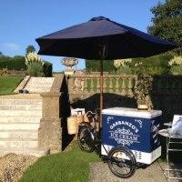 Garbanzo's Ice Cream Hire at Hartham Park