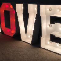 Giant Illuminated Letters Carlisle