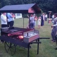 Claridge's BBQ catering Norfolk cart