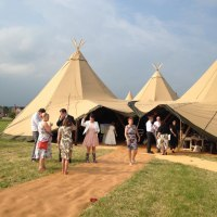 Tepee Wedding