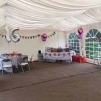 6x10 Meter Marquee Hire Lining With Carpet