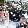 Foam pits and foam parties master blaster foam cannon