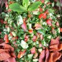 Fattoush salad, authentic Lebanese salad
